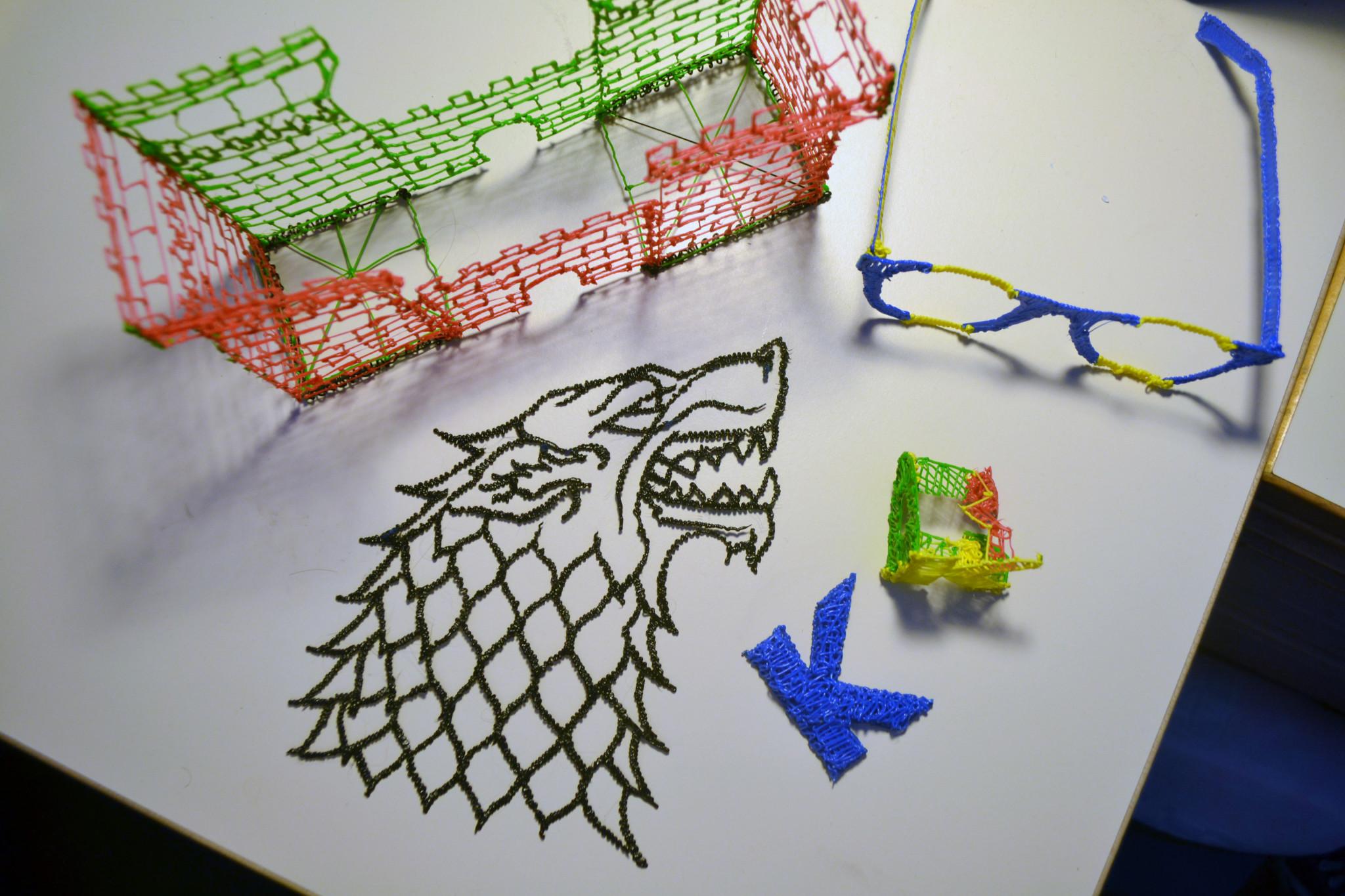 3Doodler Creations   Kyle Dumovic
